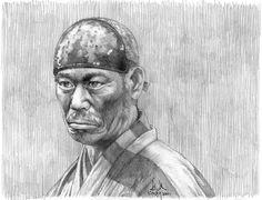 Toshiro Mifune, Akira, Pencil Drawings, Samurai, Cinema, Japan, Artwork, Movies, Drama