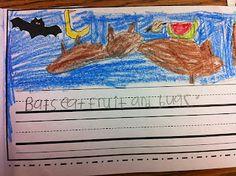 The Adventures of a Kindergarten Teacher: bats and spiders