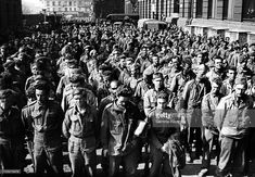 allied prisoners of germany in france following d day