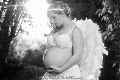 Ela é uma fada ou um anjo?