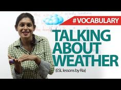 Talking about Weather in English - Free Spoken English Lessons - YouTube