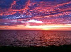 Lake Michigan Sunset - nothing better!