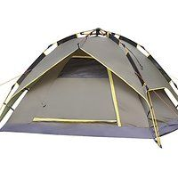 Today's Deals Generic Portable Camping 2 Person Tent Grey sale