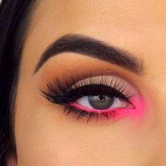 Pink Makeup, Cute Makeup, Makeup Art, Hair Makeup, Beauty Makeup, Awesome Makeup, Sfx Makeup, Makeup Style, Simple Makeup
