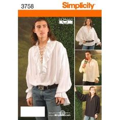 Simplicity Sewing Pattern 3758