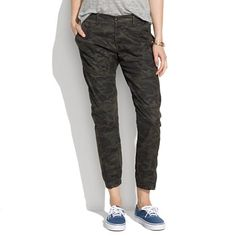 These military style pants by Madewell are a Fall 2013 must.  Dress them down with flat sneakers or dress them up with minimalist black strappy heels.
