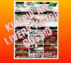 Model Livery Kotor BUSSID Terbaru Games, Blog, Gaming, Blogging, Plays, Game, Toys