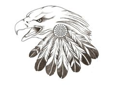 44 Best Eagle Head Tattoo Drawings Images On Pinterest