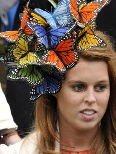 Princess Beatrice has a thing for unusual hats.
