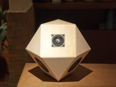 """sight"" - 14 tetrahedral speaker by sonihouse"