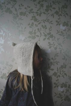 Bonnet Hat, Small Baby, Wash Bags, Baby Hats, White Cotton, Pixie, To My Daughter, Crochet Hats, Wool