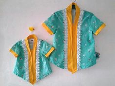 Deef Eid 2018, Model Kebaya, Batik Dress, Happy Baby, Traditional Dresses, Ikat, Ethnic, Kids Fashion, Kimono Top