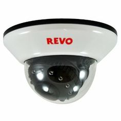 Revo RCDS12-2 Indoor Dome 600TVL Super High Resolution Camera - RJ12/BNC Type 33-Feet Nightvision by Revo. $64.00. The REVO RCDS12-2, is a of Super High Resolution Color Camera. Get crisp, clear images with 600 TV Lines durable, discrete dome housing, requires 0.0 lux (IR ON). Free lifetime technical support. Dome camera is designed for indoor use. Wall bracket is included. No visible cable. Night vision: Built in Infra Red (IR) LEDs allow dome camera to see up to 33' in to...
