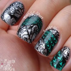 #bornprettystore stamping plate 04 http://manisandmakeovers.blogspot.com/2014/11/born-pretty-store-stamping-plate-04.html