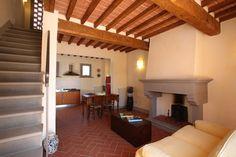 Podere La Casa, Palaia, Toscana. Meidän alakerta.
