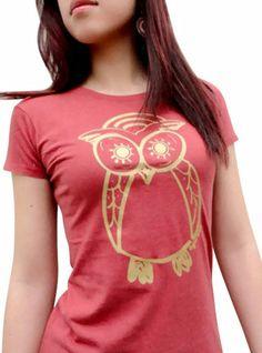 Owl Bamboo & Organic Cotton T-shirt