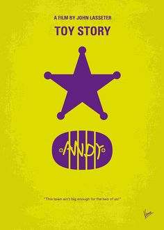 No190 My Toy Story Minimal Movie Poster Digital Art