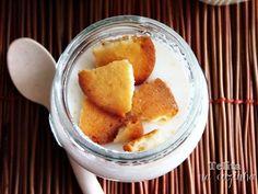Telita na Cozinha: iogurtes de côco com biscoito de côco