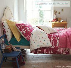 Bright.Bazaar: Sneak Peek: Joules' Debut Bedding Collection
