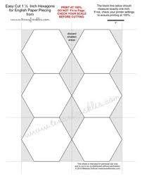 6' hexagon pattern to print - Google Search
