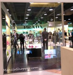 Manila Shopper: Prada Outlet Store at Space Outlet Marina Square Aberdeen Hong Kong