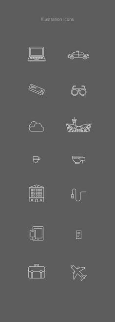 Identity and Icons for Trippeo on Behance