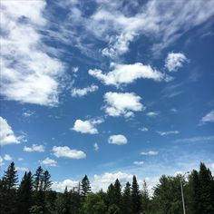 Pretty sky view from a rest stop in Vermont.