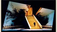 Richard Hudson – Set design for Pique Dame - Act II, Scene I (Lyric Opera of Chicago)