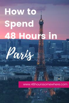 Enjoy 48 hours in Paris with this City Guide Travelling Tips, Europe Travel Tips, European Travel, Travel Destinations, Paris Travel, France Travel, Paris Destination, Paris Tips, Paris Restaurants