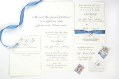 Jacksonville Wedding Invitations | Heather O'Brien Design | The River Club Wedding