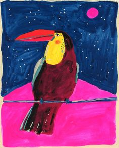 toucan painting