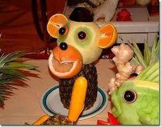 zöldség gyümölcs faragás - Google-keresés