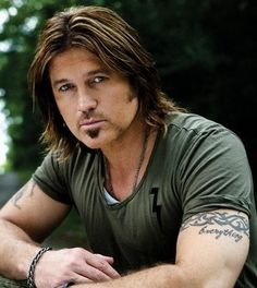 Billy Ray Cyrus- Once had an ACHY BREAKY HEART thing going on....whatever happened to that ROMEO ???..,lol.