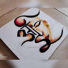 Latest Rangoli Designs Images, Easy Rangoli Designs Videos, Easy Rangoli Designs Diwali, Indian Rangoli Designs, Rangoli Designs Flower, Rangoli Border Designs, Rangoli Patterns, Colorful Rangoli Designs, Rangoli Ideas