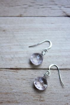 Rose Quartz Wrapped in Silver filled wire by AFRAcollection