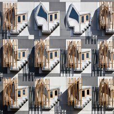 The Scottish Parliament, Edinburgh  / Enric Miralles