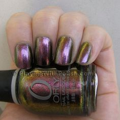 Space Cadet Orly; my favorite holographic shade.