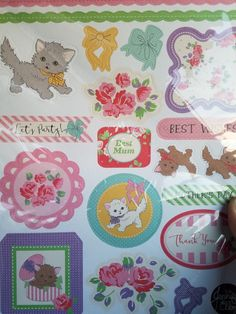 Die cut sheets from Making Special Cards.
