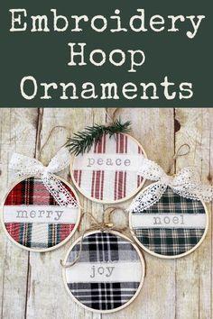 Christmas Ornament Crafts, Christmas Projects, Holiday Crafts, Christmas Decorations, Diy Ornaments, Cricut Christmas Ideas, Rustic Christmas, Simple Christmas, Handmade Christmas