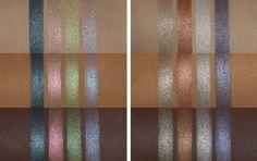 Linda Hallberg palettes #swatches