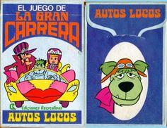 Barajas y Naipes: El juego de la Gran Carrera (Autos locos)