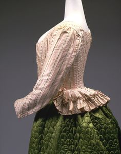 Carico and Petticoat, 1785 The Metropolitan Museum of Art