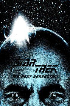 Star Trek: The Next Generation ~ Alternative TV Series Poster by Daniel Norris Star Trek Series, Tv Series, We Movie, The Next, Movies And Tv Shows, Pop Culture, Sci Fi, Geek Stuff, Cinema
