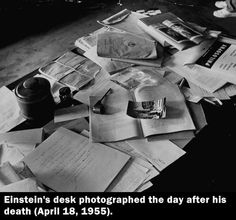 I know for a fact that he would know would have known precisely where everything was located. I thrive in organized mess.