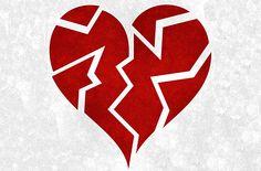 Sunday Inspiration: Mend A Broken Heart - Emilie Richards Broken Heart Pictures, Broken Heart Drawings, Arte Emo, Letter To My Ex, Open Letter, Stencil, Mending A Broken Heart, Heart Broken, Shattered Heart