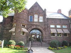 Amelia Givin Library, Cumberland County Library System, Mount Holly Springs, Pennsylvania.