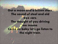 Jason Aldean-Night Train (Lyrics) - YouTube
