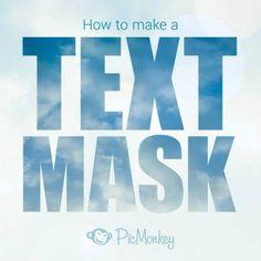 Tutorial: Make a Text Mask
