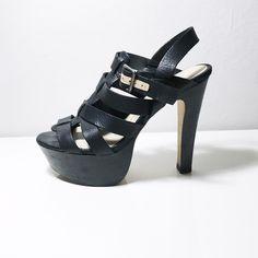"DOLCE VITA Black, "" platform and "" heel. Very comfortable. Dolce Vita Shoes Heels"