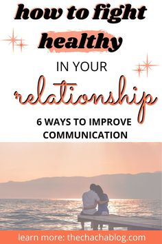 6 Ways to fight healthier in your relationship. Healthy fighting relationship, how to solve a fight relationships, relationship advice, relationship tips, resolving conflict in relationship, relationship goals, relationship advice, relationship advice for women, relationship advice fighting, relationship advice fighting tips, relationship advice fighting marriage, how to have a healthy fight, how to fix a relationship, how to fix a marriage Mental And Emotional Health, Mental Health Matters, Mental Health Awareness, Fixing Relationships, Making A Relationship Work, Relationship Questions, Relationship Texts, Single Mom Blogs, How To Communicate Better